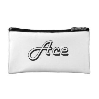 Ace Classic Retro Name Design Cosmetics Bags