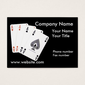 Ace Company Business Card