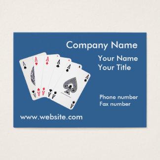 Ace Company Business Card Calendar