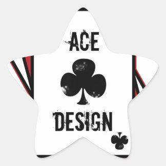 Ace Design Star Sticker