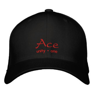 Ace Embroidered Cap / Hat