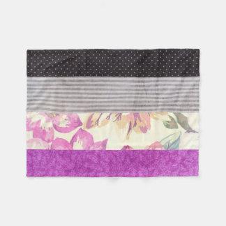 Ace Flag Mixed Patterns Fleece Blanket