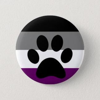 Ace furry pinback button