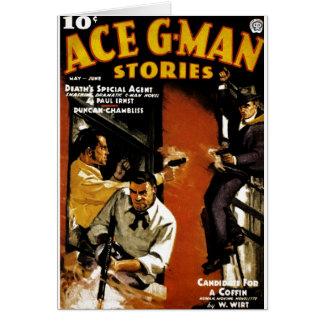 Ace G-Man Stories Card