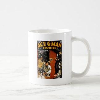 Ace G-Man Stories Coffee Mug
