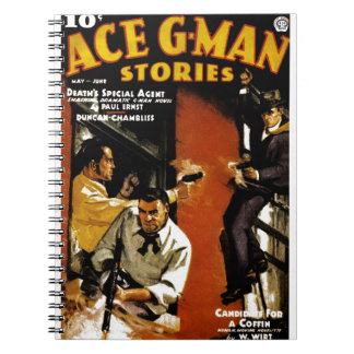 Ace G-Man Stories Notebook