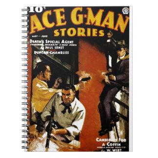 Ace G-Man Stories Journal