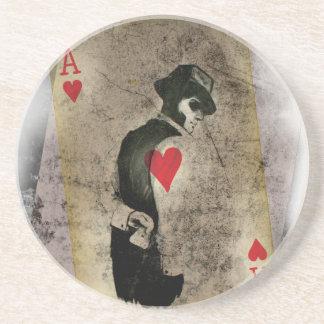 Ace Heart Hustler USA Coaster