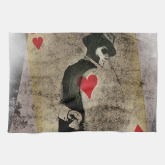 Ace Heart Hustler USA Hand Towel