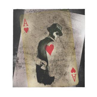 Ace Heart Hustler USA Notepad