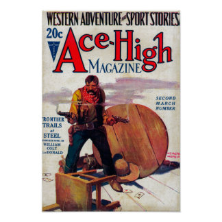Ace High Magazine Cover 2 Poster