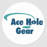 Ace Hole Gear Sticker