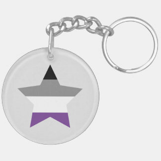 Ace keychain with stars