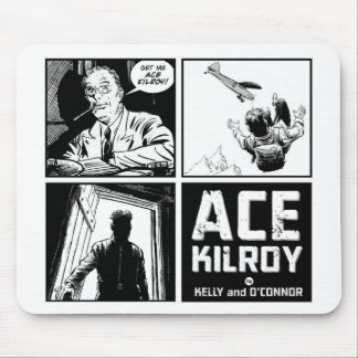 Ace Kilroy Four Panel Mousepad