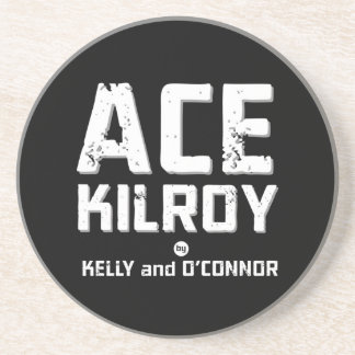 Ace Kilroy Logo Coaster