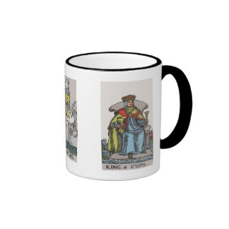 Ace, King and Queen of Cups Tarot Coffee Mug