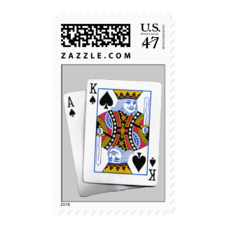 Ace & King of spades Postage