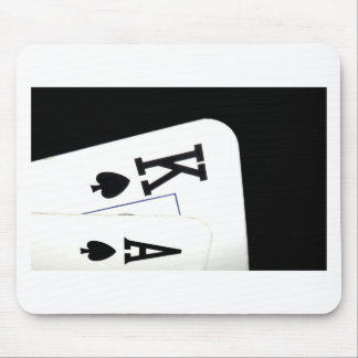 Ace King Suited Mouse Pad