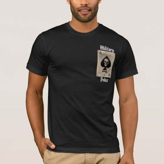 ace, Military, Police T-Shirt