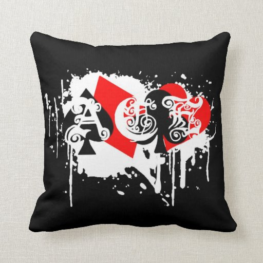 ace n strypes pillow