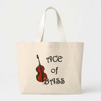 Ace of Bass Canvas Bags