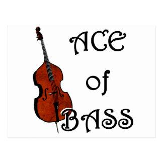 Ace of Bass Postcard