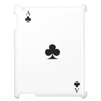 Ace of Clubs iPad Case