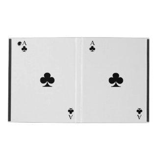 Ace of Clubs iPad Folio Case