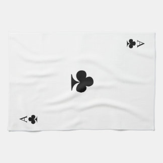 Ace of Clubs Kitchen Towel