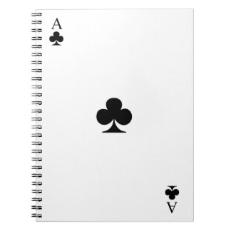 Ace of Clubs Notebook