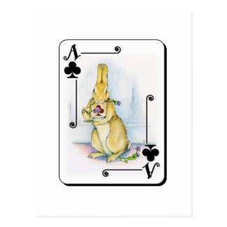 Ace of Clubs Postcard