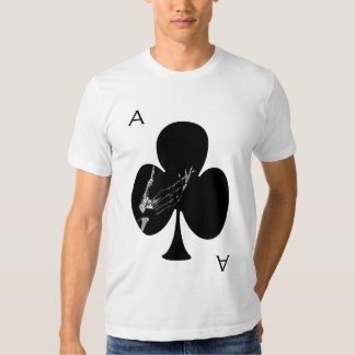 Ace of Clubs T Shirt