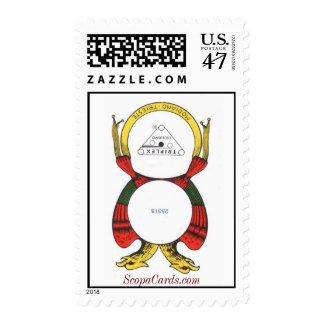 Ace of Coins, ScopaCards.com Postage