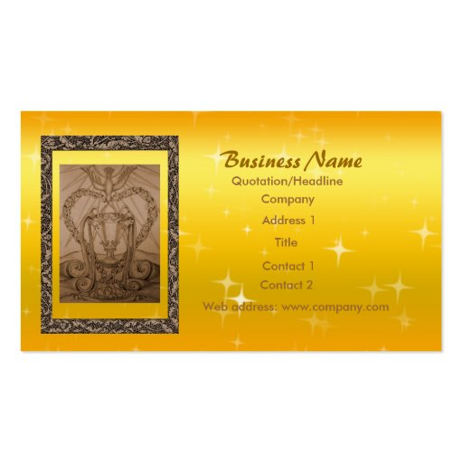 Ace of cup tarot business card zazzle for Tarot business cards