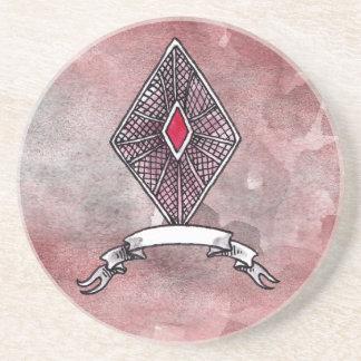 Ace of Diamonds Drink Coaster