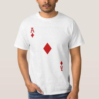 Ace of Diamonds Playing Card Shirt