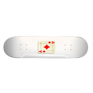 Ace of Diamonds Playing Card Skate Boards