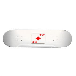 Ace of Diamonds Playing Card Skateboard Deck