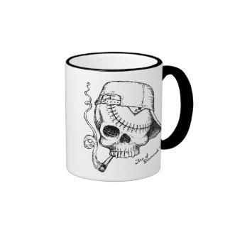 Ace of Diamonds Ringer Mug