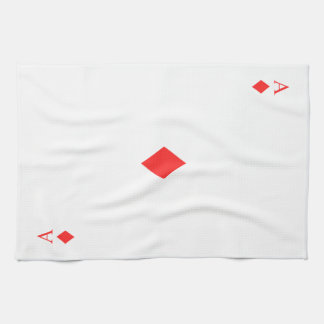 Ace of Diamonds Towel