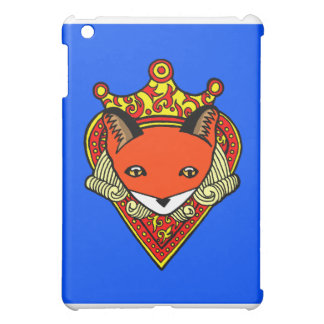 Ace of Hearts Blue IPad Case