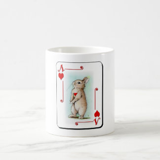 Ace of Hearts Classic White Coffee Mug
