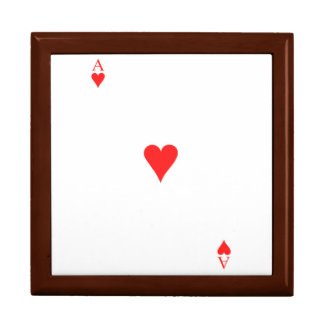 Ace of Hearts Jewelry Box