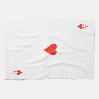 Ace of Hearts Kitchen Towel