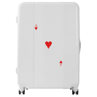 Ace of Hearts Luggage