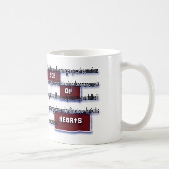 Ace of Hearts Meaning Mug