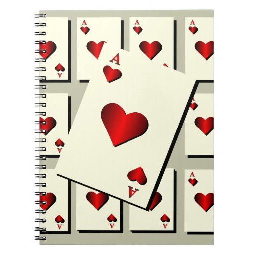 Ace Of Hearts Notebook
