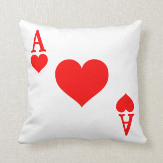 Ace of Hearts Pillow