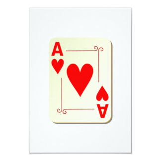 Ace of Hearts Playing Card