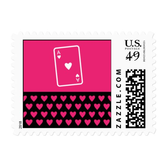 Ace of Hearts Postage